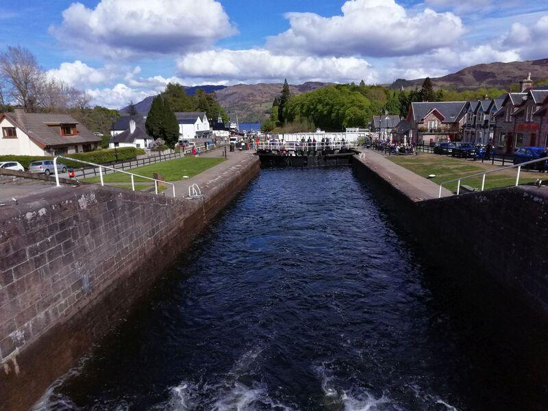 Fort Augustus – nad zdymadly